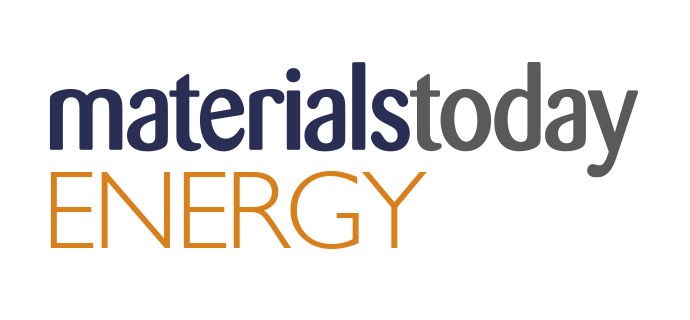 Materials Today Energy journal cover