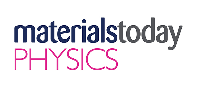 Materials Today Physics journal cover